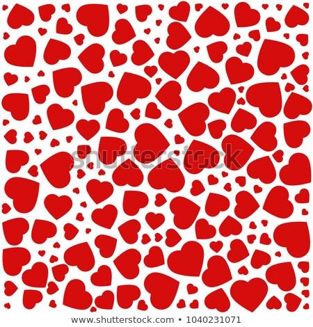 Lila szív végtelen minta terv boldog absztrakt Stock fotó © slunicko