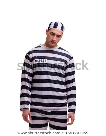 bilincs · izolált · fehér · szex · szexi · rendőrség - stock fotó © elnur
