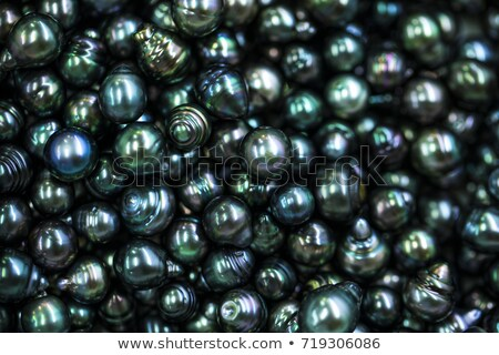 lots of shiny diamonds on black Stock photo © clearviewstock