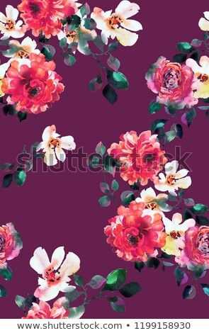 opulent bouquet of flowers Stock photo © morrbyte