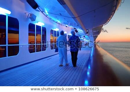 wal · cruiseschip · mannen · schip · leuk - stockfoto © feverpitch