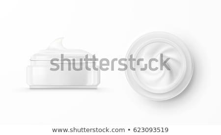 Vidro jarra isolado branco cara Foto stock © tetkoren