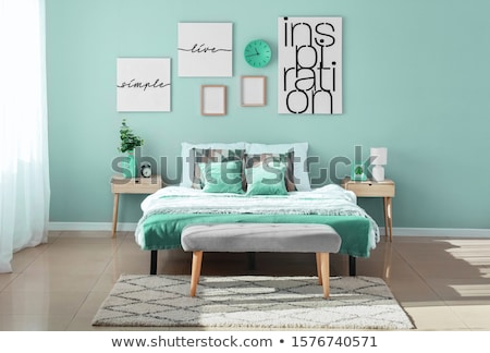 Stock photo: Bedroom Detail