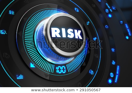 crisis controller on black control console stock photo © tashatuvango