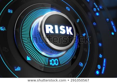 кризис черный контроль утешить синий подсветка Сток-фото © tashatuvango