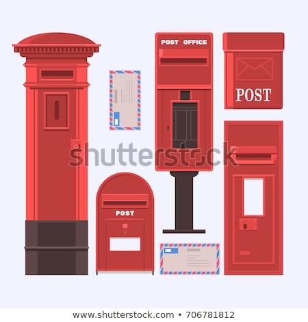 Post cuadro británico real mail aislado Foto stock © Bigalbaloo