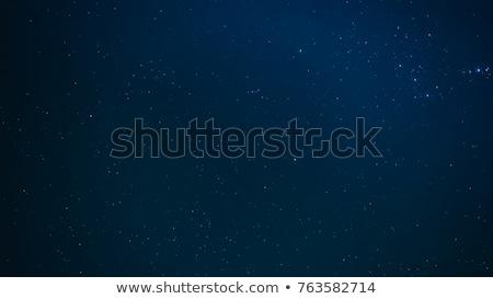 Bianco telescopio blu cielo acqua albero Foto d'archivio © jordanrusev