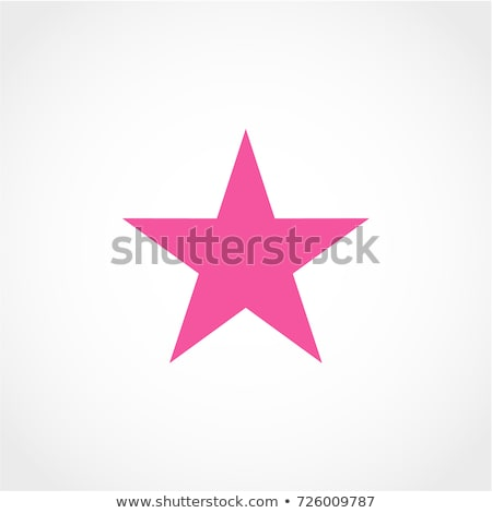 star pink vector button icon stock photo © rizwanali3d