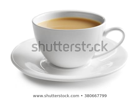 Detail of a tea cup Stock photo © jrstock