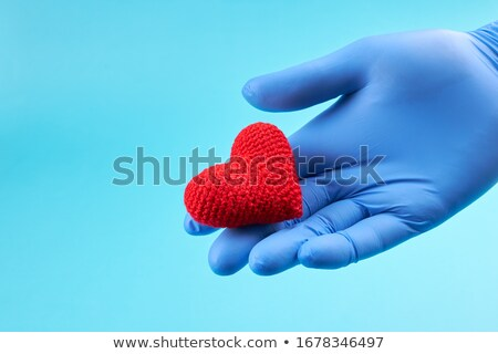 Illness. Medical Concept on Blue Background. Stock photo © tashatuvango