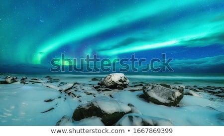 Foto stock: Hermosa · luz · azul · verde · resumen