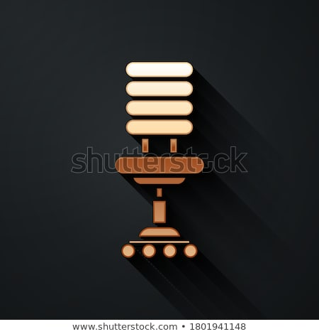Wheel Chair golden Vector Icon Design Stock photo © rizwanali3d