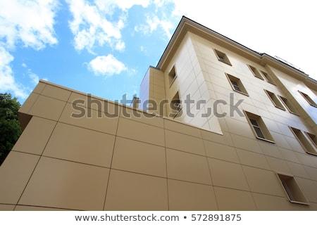 Edifício moderno céu negócio escritório cidade parede Foto stock © Paha_L