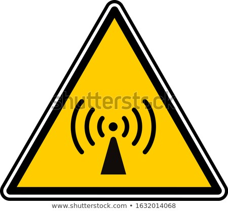Radio Signal Yellow Vector Icon Design Stock photo © rizwanali3d
