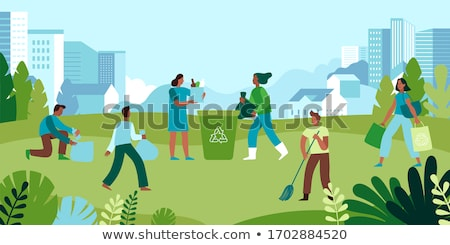 Reciclar basura medio ambiente global basura basura Foto stock © Lightsource