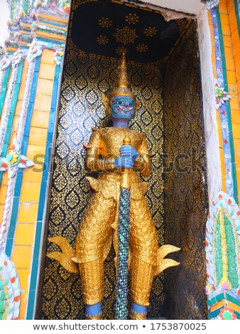 belle · temple · Bangkok · Thaïlande · bâtiment · art - photo stock © Mariusz_Prusaczyk