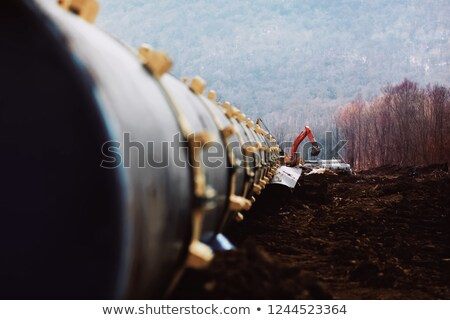 Pipeline gaz pipe ligne vanne vert Photo stock © ssuaphoto