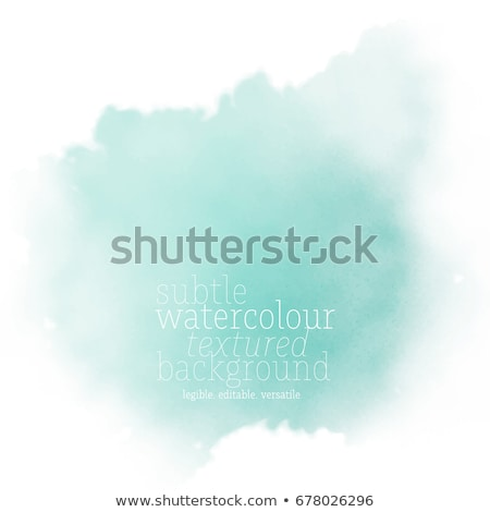 Watercolor Splotch Design Stock photo © derocz