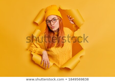 Millennials Torn Paper Concept Stock photo © ivelin