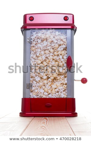 Crank lever on full popcorn maker Stock photo © ozgur