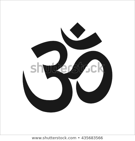 om symbol stock photo © stellis
