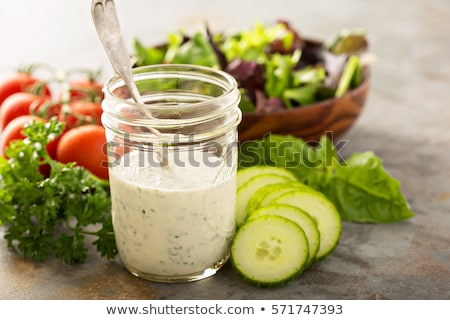 Homemade Ranch dressing Stock photo © Digifoodstock