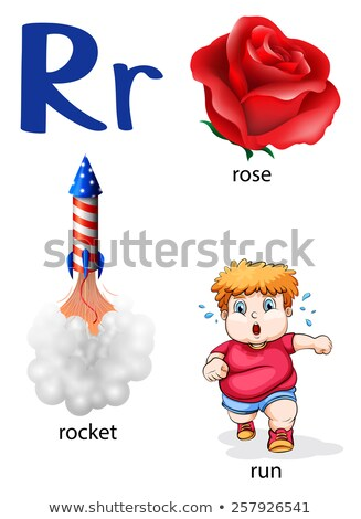 Things that start with the letter R Stock photo © bluering