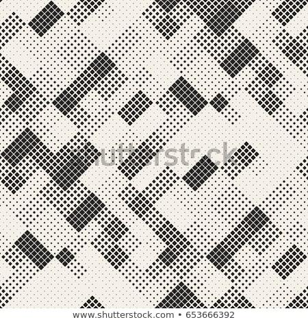 Vector Seamless Mosaic Lattice Pattern Stock photo © CreatorsClub