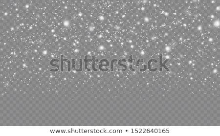 snowfall transparent backdrop Stock photo © romvo