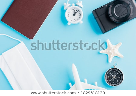 Starfish bússola conceito projeto 10 verão Foto stock © sdCrea