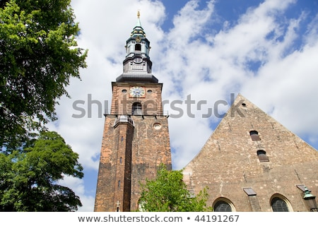 Sankt Petri Church in Copenhagen Stock photo © oliverfoerstner