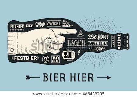 Октоберфест · празднования · дизайна · пива · пшеницы · ушки - Сток-фото © sdmix