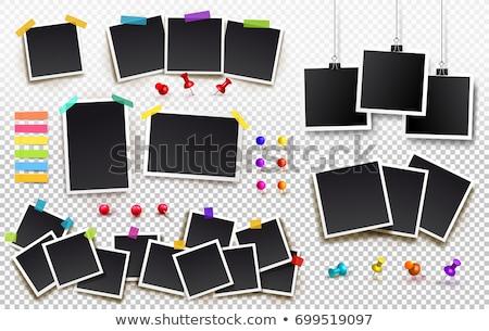 Toplama fotoğraf kareler dizayn çerçeve baskı Stok fotoğraf © SArts