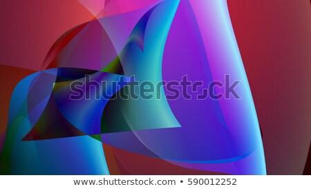 Renkli ön plan 3d illustration ışık dizayn Stok fotoğraf © klss