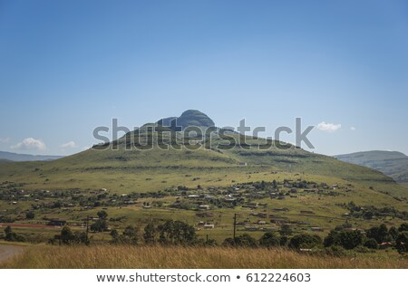 домах гор маршрут ЮАР фон зеленый Сток-фото © compuinfoto