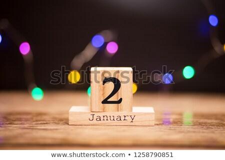 2nd january stock photo © oakozhan