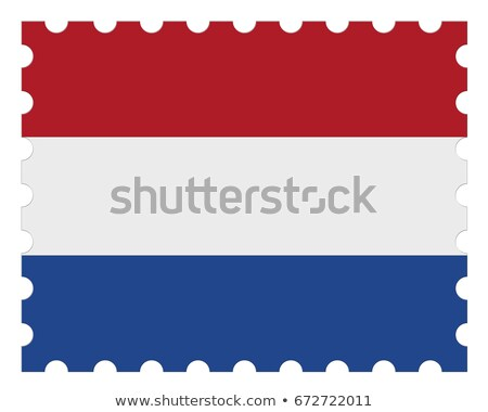 Dutch postage stamp   Stock photo © Hofmeester