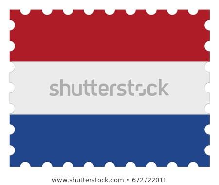 Dutch postage stamp   stock photo © Hofmeester