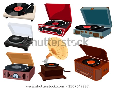 Vinyl collection. Stock photo © Fisher