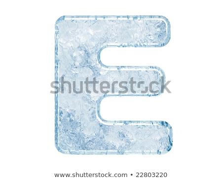 Buz 3D 3d render örnek Stok fotoğraf © djmilic