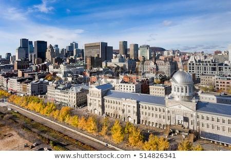 Markt gebouw Montreal Quebec Canada hemel Stockfoto © benkrut