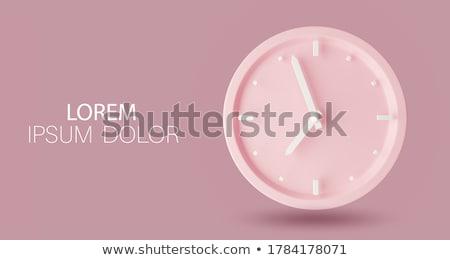 Vida ver ilustração 3d negócio relógio de bolso cara Foto stock © tashatuvango