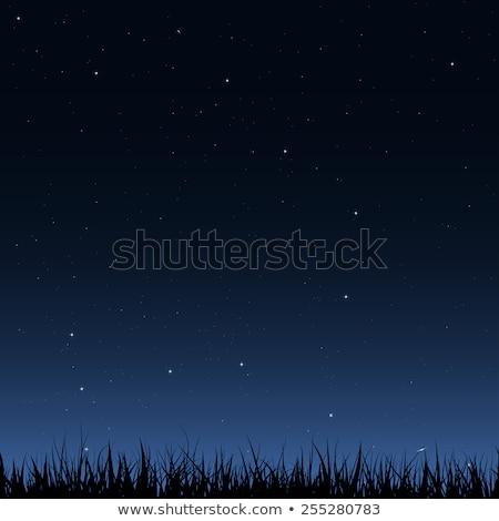 galaksi · grup · güneş · ışık · ay · uzay - stok fotoğraf © magann