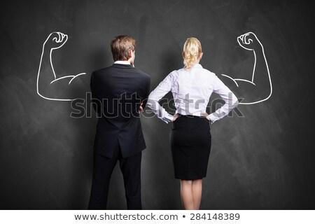 employé · incitation · affaires · groupe · affaires · affaires - photo stock © tashatuvango