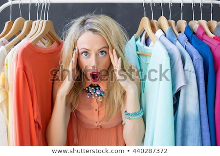 panic funny woman stock photo © rogistok