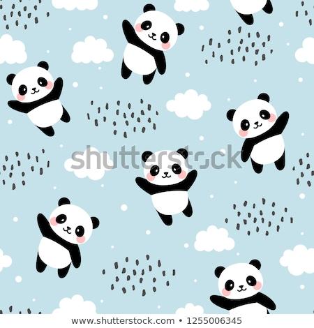 雲 空 抽象的な 雨 白 ストックフォト © popaukropa
