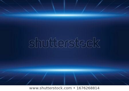 Terv kék sebességváltó illusztráció technológia háttér Stock fotó © bluering