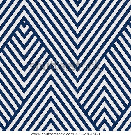 ジグザグ 青 対角線 パターン ストックフォト © SArts