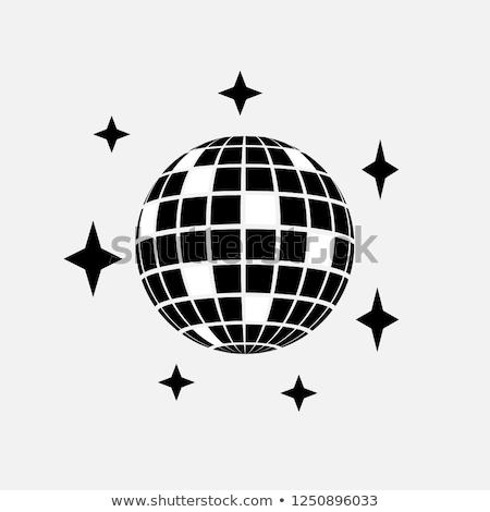 party disco sphere icon stock photo © angelp