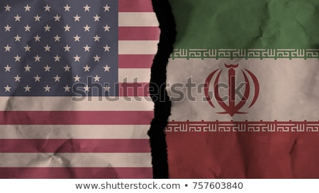Iran United States Economic Fight Stock photo © Lightsource